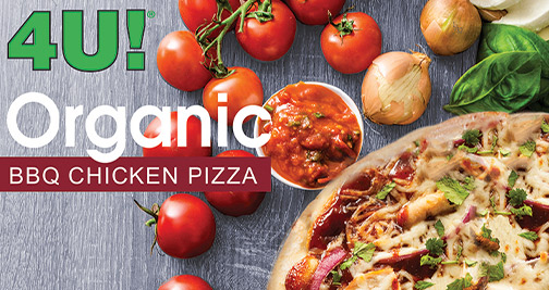 USDA certified organic pizza