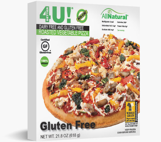 Multiserve Dairy Free / Gluten Free Roasted Vegetable Pizza
