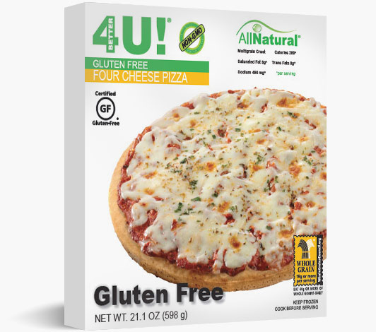 Multiserve Gluten Free Four Cheese Pizza
