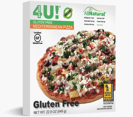 Multiserve Gluten Free Mediterranean Pizza