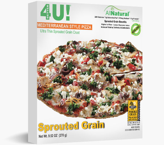 Sprouted Grain Mediterranean Pizza