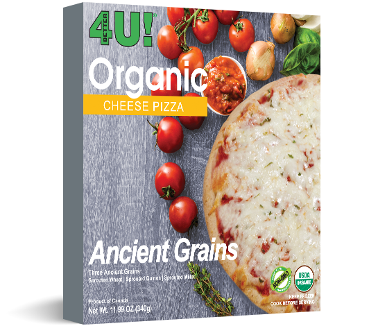 organic cheese pizza