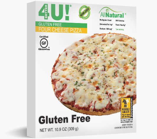 Personal Size Gluten Free Four Cheese Pizza