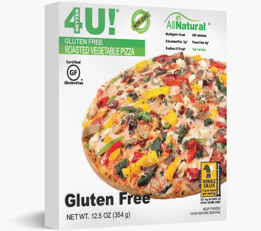 Personal Size Gluten Free Roasted Vegetable Pizza