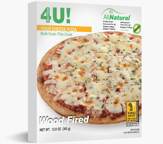 Thin Crust Wood Fired 4 Cheese Pizza
